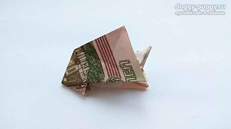 Собачка манигами