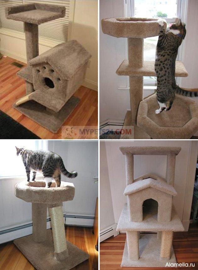 своими руками домик для кошки